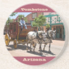 Coaster: Stagecoach Ride #3 (Red) Coaster