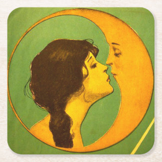 Coaster - Vintage the Lady and the Moon