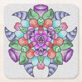 Coaster with pretty design.