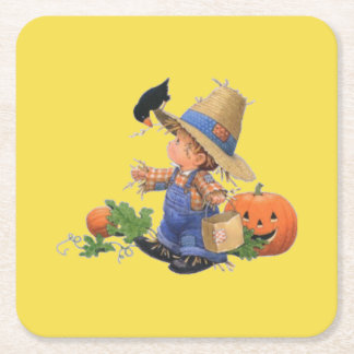 Coaster with Scarecrow