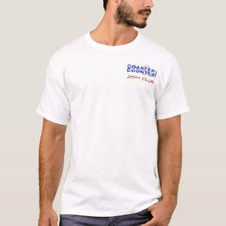 CoasterCounter.com 200+ Club T-Shirt