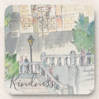 "Coasters ""France Watercolor """