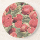 Coasters, Red Tulips, Decorative Art Coaster
