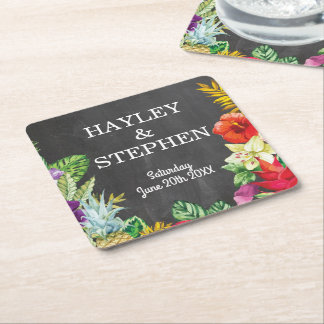 Coasters Tropical Aloha Lights Wedding Party