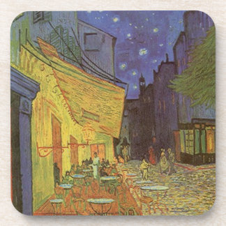 Coasters Vincent Van Gogh Paris Cafe Starry Night
