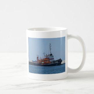 Coastguard Boat And Tug Boat Coffee Mugs