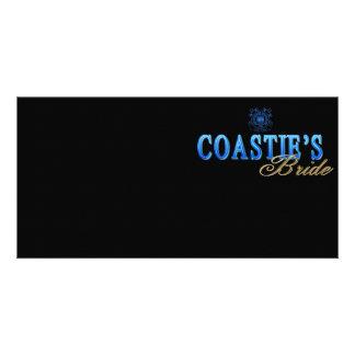 Coastie's Bride Custom Photo Card
