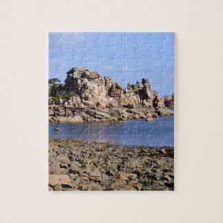Coastline of Ploumanac'h in France Jigsaw Puzzle
