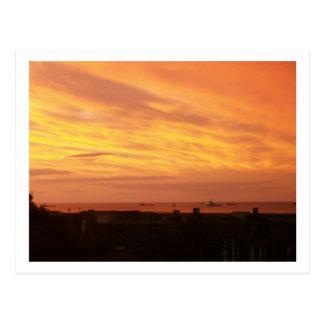 Coastline Sunrise Postcard