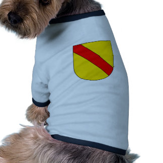 Coat Arms Baden Germany Official Symbol Heraldry Dog Clothing