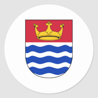 Coat Arms Greater London Council Official England Classic Round Sticker