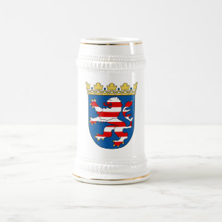 Coat arms Hesse Official Heraldry Symbol Germany 18 Oz Beer Stein
