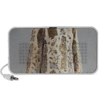 Coat, from Iran, Safavid, c.1600 iPhone Speakers