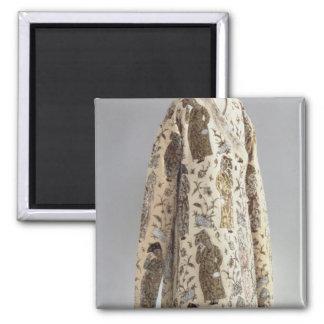 Coat, from Iran, Safavid, c.1600 Square Magnet