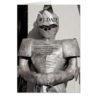 Coat of Armor Father's Day Card