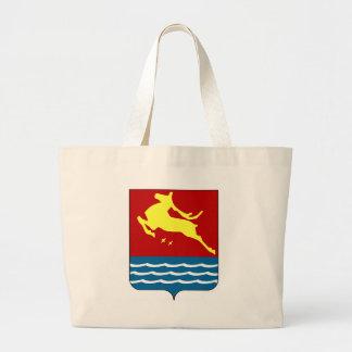 Coat_of_arms_Agalatovo_(Leningrad_oblast) (2) Large Tote Bag