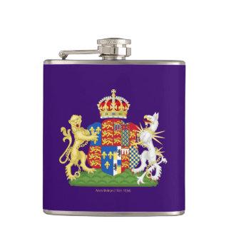 Coat of Arms Anne Boleyn Hip Flask