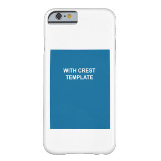 Coat of Arms Barely There iPhone 6 Case