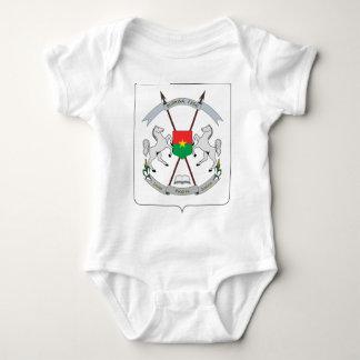 Coat of Arms Burkina Faso - Armoiries Burkina Faso Baby Bodysuit