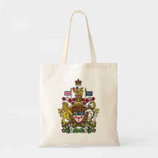 Coat of arms Canada Official Heraldry Symbol Logo Budget Tote Bag