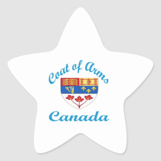 Coat Of Arms Canada Stickers