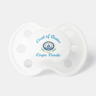 Coat Of Arms Cape Verde Baby Pacifiers