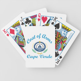 Coat Of Arms Cape Verde Bicycle Card Deck