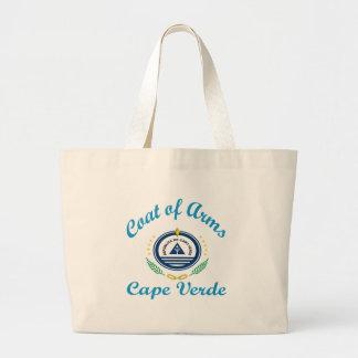 Coat Of Arms Cape Verde Canvas Bag