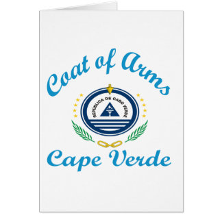 Coat Of Arms Cape Verde Cards