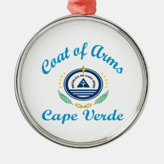 Coat Of Arms Cape Verde Christmas Tree Ornaments