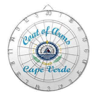 Coat Of Arms Cape Verde Dartboard