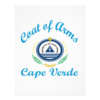 Coat Of Arms Cape Verde Letterhead