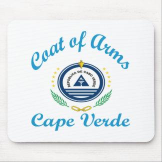 Coat Of Arms Cape Verde Mousepad