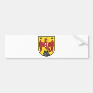 Coat of arms castle country Austria Bumper Sticker