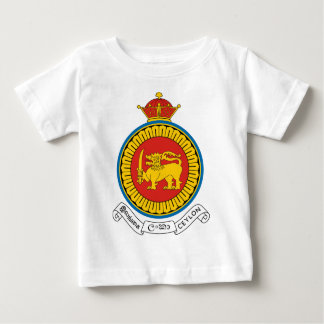 Coat_of_Arms_Ceylon_dominion Baby T-Shirt