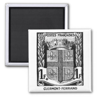 Coat of Arms, Clermont-Ferrand France Magnet