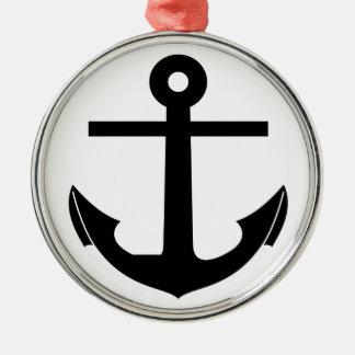 Coat Of Arms Crest Flag Swiss Key Emblem Anchor Metal Ornament