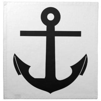 Coat Of Arms Crest Flag Swiss Key Emblem Anchor Napkin