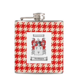 Coat of Arms Flask for Worthington