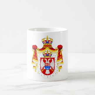 Coat of arms Kingdom of Yugoslavia Official Symbol Coffee Mugs