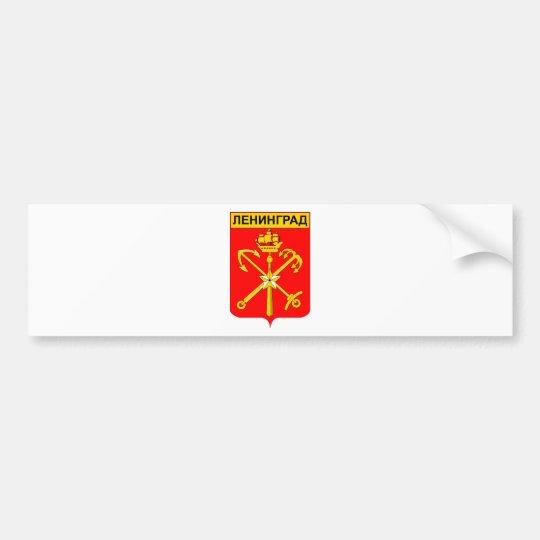 Coat_of_arms_Leningrad Bumper Sticker