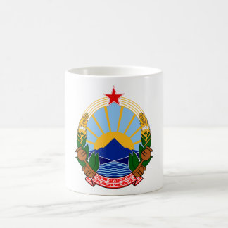 Coat of arms Macedonia Official Heraldry Symbol Coffee Mug