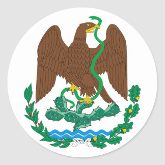 Coat of Arms Mexico Official Heraldry Symbol Logo Stickers