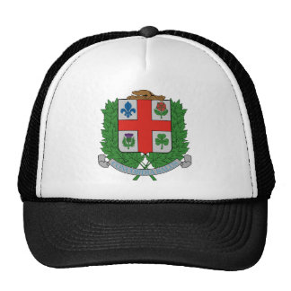 Coat of Arms Montréal Canada Official Symbol Trucker Hat