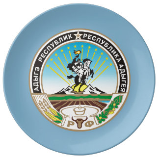 Coat of arms of Adygea Plate