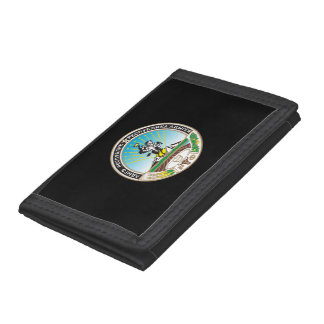 Coat of arms of Adygea Tri-fold Wallet