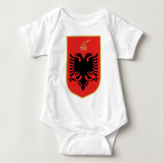Coat of Arms of Albania Baby Bodysuit