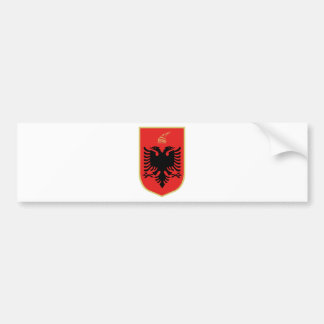 Coat of Arms of Albania Bumper Sticker