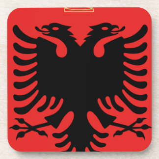 Coat of Arms of Albania Coaster