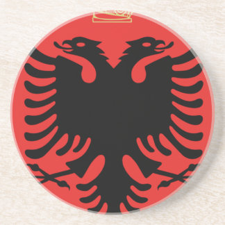 Coat of Arms of Albania Drink Coasters